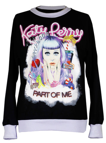 Katy Perry Part Of Me Two Tone Sweatshirt