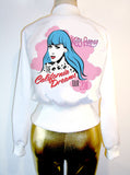 Katy Perry California Dreams Pop Art High Waisted Satin Jacket - IDILVICE Clothing - 3
