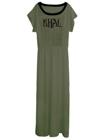 Khal Game Of Thrones Long Maxi Dress Gown