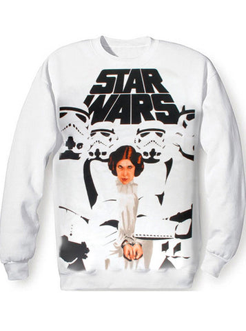 Princess Leia Troopers Star Wars Sweatshirt