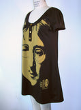 John Lennon Face Peace Specs Mini Dress - IDILVICE Clothing - 2