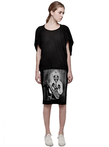 Louis Jordan Jazz Photo Print Pencil T-Shirt Skirt