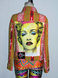 Herb Ritts Madonna Photo Print Woven Jacket - IDILVICE Clothing - 6