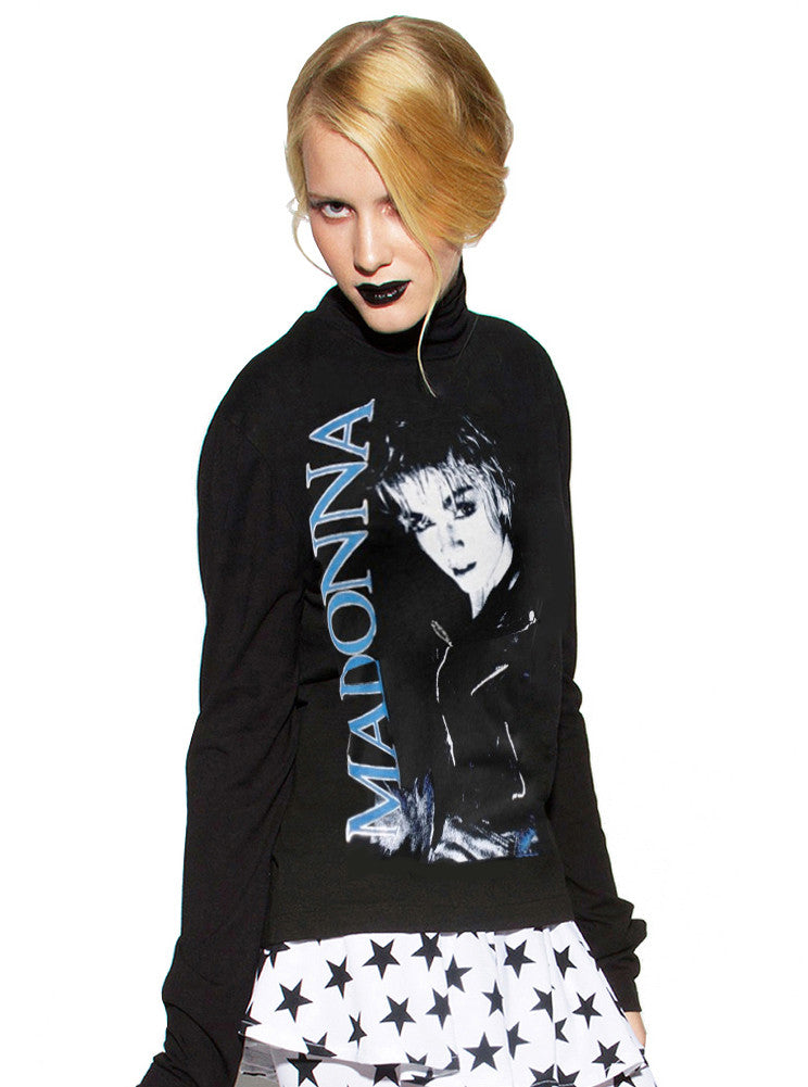 Madonna Papa Don't Preach Turtleneck Sweater - IDILVICE Clothing