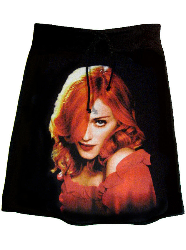 Madonna Confessions Red Hair T-Shirt Skirt - IDILVICE Clothing