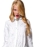 Marshmallow Photo Print Button Down Shirt - IDILVICE Clothing - 2