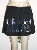 Michael Jackson Moon Dance Sequence Mini Skirt - IDILVICE Clothing - 2