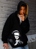 Miles Davis Jazz Icon Photo Men's Hoodie Zip Jacket