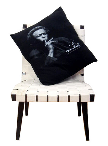 Miles Davis Jazz Icon Photo Pillow Cover