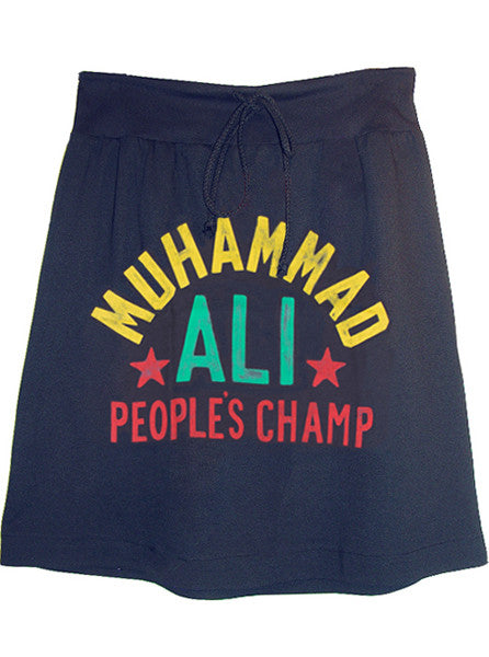 Muhammad Ali 1974 Zaïre All Over Print T-Shirt Skirt - IDILVICE Clothing - 1