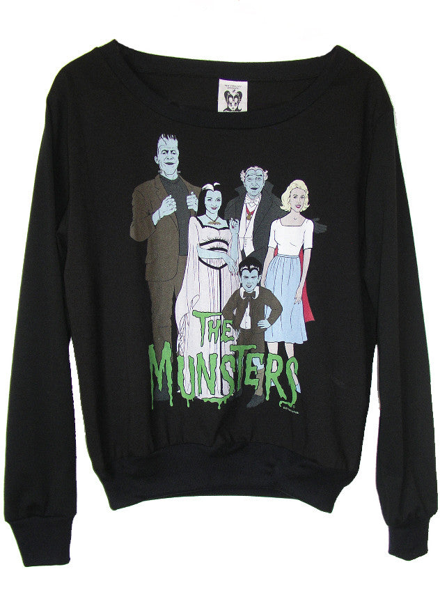 The Munsters Comic Illustration Jumper - IDILVICE Clothing - 1