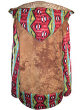 Navajo Lion Fleece Oversize Hooded Sweatshirt - IDILVICE Clothing - 2