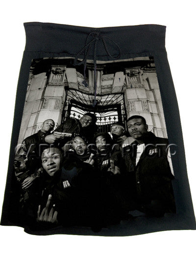 Notorious BIG Biggie Hip Hop Skirt - IDILVICE Clothing