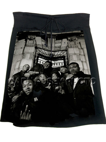 Notorious BIG Biggie Hip Hop Skirt