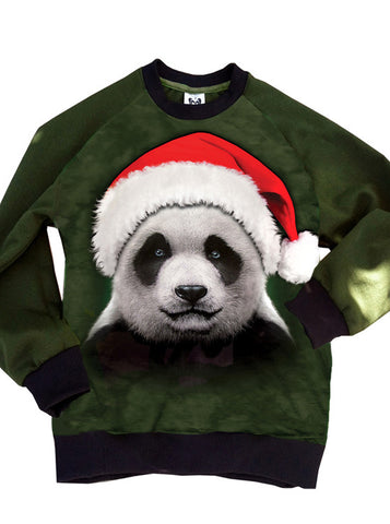Santa Panda Very Merry Sweatshirt