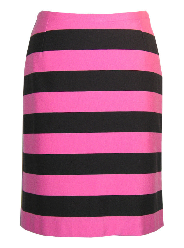 Vertical Stripe Printed Pencil Skirt - IDILVICE Clothing - 1