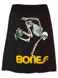Powell Peralta Skeleton Skate Aline T-Shirt Skirt