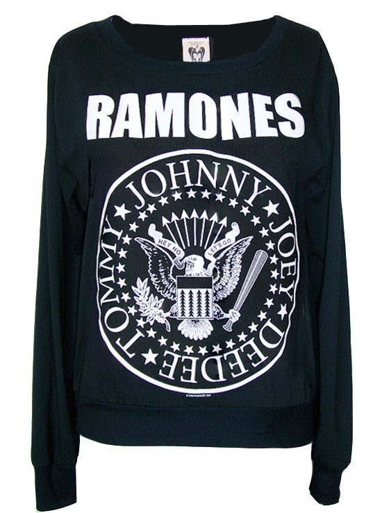 The Ramones Presidential Seal Printed Sweater Jumper - IDILVICE Clothing