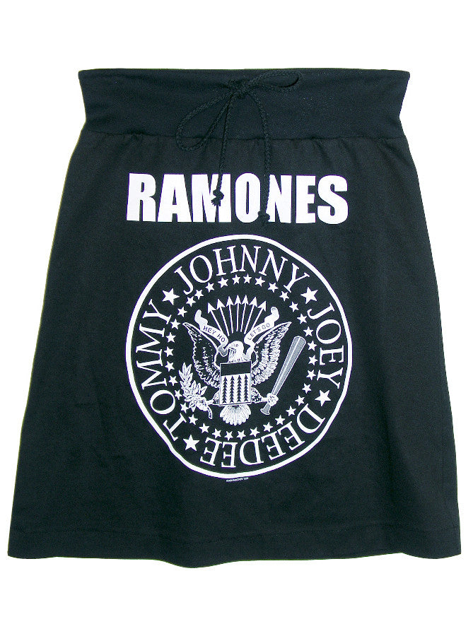 The Ramones Presidential Seal T-Shirt Skirt - IDILVICE Clothing - 1