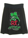 Rat Fink Ed Roth T-Shirt A-Line Skirt