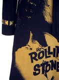 Mick Jagger Rolling Stones Brass Studded Long Sleeve Dress - IDILVICE Clothing - 3