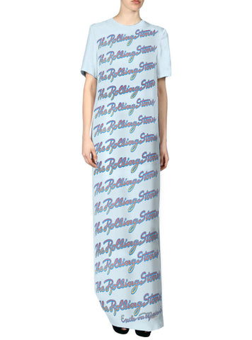 Exile The Rolling Stones Repeat Maxi T-Shirt Dress
