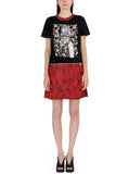 Women's Marilyn Monroe Flowers Dress W/ Zipper Turns Into T-Shirt - IDILVICE Clothing - 2