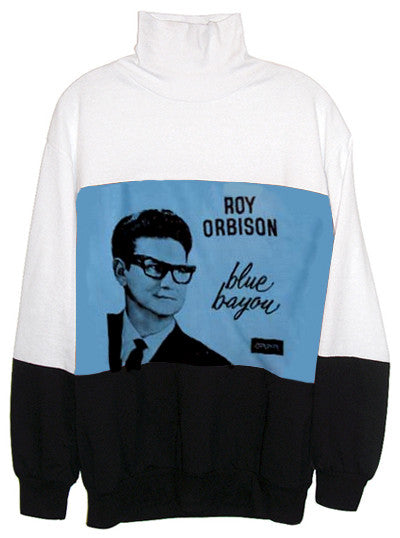 Roy Orbison Blue Bayou Turtleneck Sweater - IDILVICE Clothing