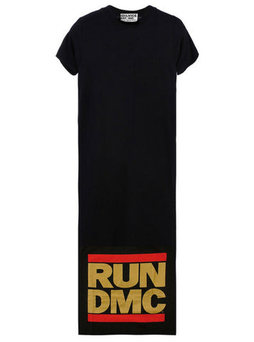 RUN DMC Logo Women's Maxi T-Shirt