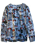 Cool Safari Animals Cotton L/S Top - IDILVICE Clothing - 2