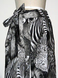 Safari Exotic Animals Printed Slack Pants - IDILVICE Clothing - 2