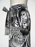 Safari Exotic Animals Printed Slack Pants - IDILVICE Clothing - 3