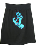 Santa Cruz Speed Wheels Screaming Hand T-Shirt Skirt - IDILVICE Clothing - 1