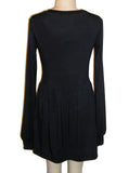 Eddie Munster Long Sleeve Skater Dress - IDILVICE Clothing - 2