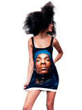 Snoop Dogg Print Mini Dress - IDILVICE Clothing - 1