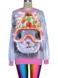 Snow Bunny Christmas Sweater - IDILVICE Clothing - 2