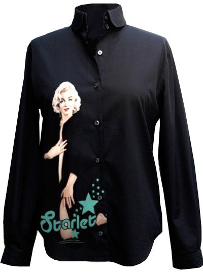 Marilyn Monroe Morning Starlet Button Down Shirt - IDILVICE Clothing