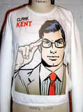 Clark Kent Superman Pop Art Bomber Sweatshirt - IDILVICE Clothing - 5