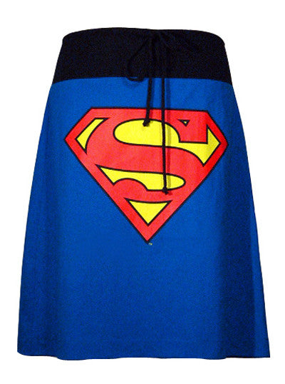 Superman Shield A-Line T Skirt - IDILVICE Clothing