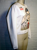 Clark Kent Superman Pop Art Bomber Sweatshirt - IDILVICE Clothing - 4