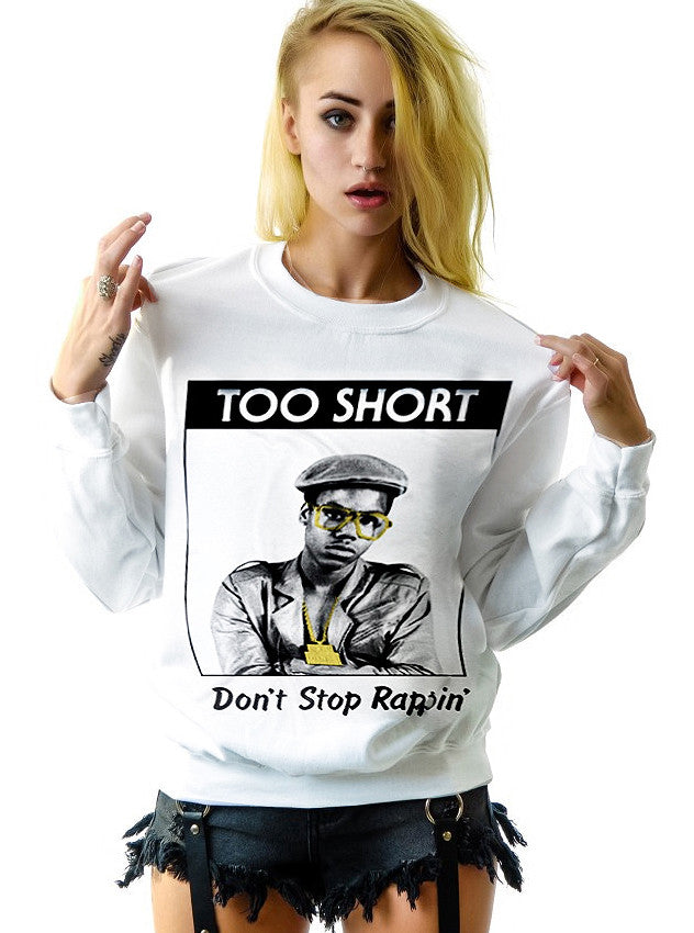 Too Short West Coast Rap Hip Hop Sweatshirt - IDILVICE Clothing