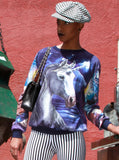 Unicorn Galaxy All Over Print Jumper - IDILVICE Clothing - 3