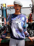 Unicorn Galaxy All Over Print Jumper - IDILVICE Clothing - 2