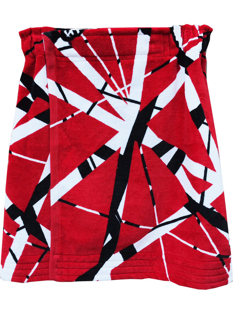 Edward Van Halen Plush French Terry Towel Wrap Skirt - IDILVICE Clothing - 1
