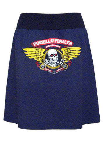 Winged Ripper Skull Powell Peralta Skateboard T-Shirt Skirt