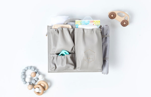 Introducing the Fawn Design x ToteSavvy® Diaper Bag Organizer + What To Pack In a Diaper Bag