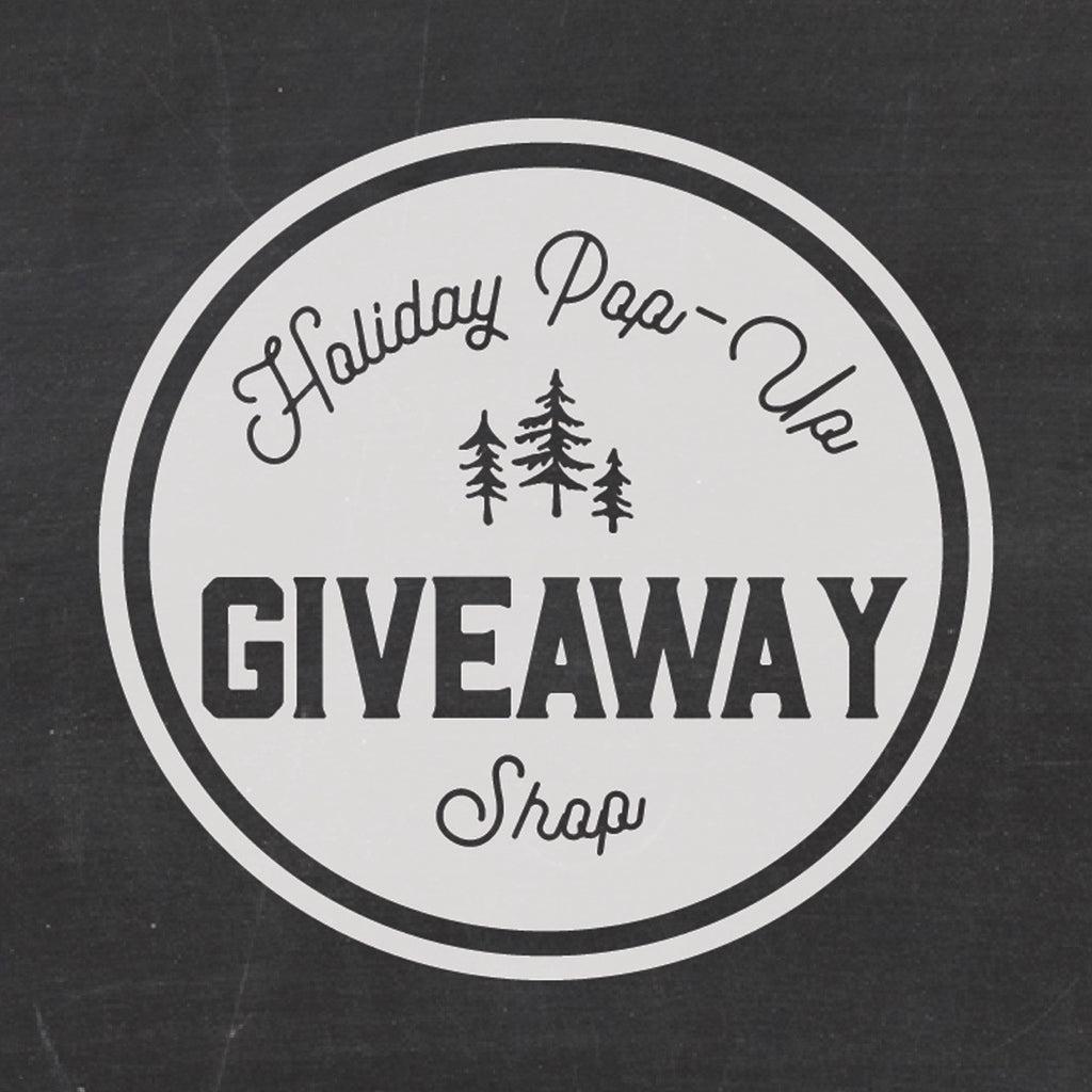 Holiday Pop Up Giveaway- CLOSED