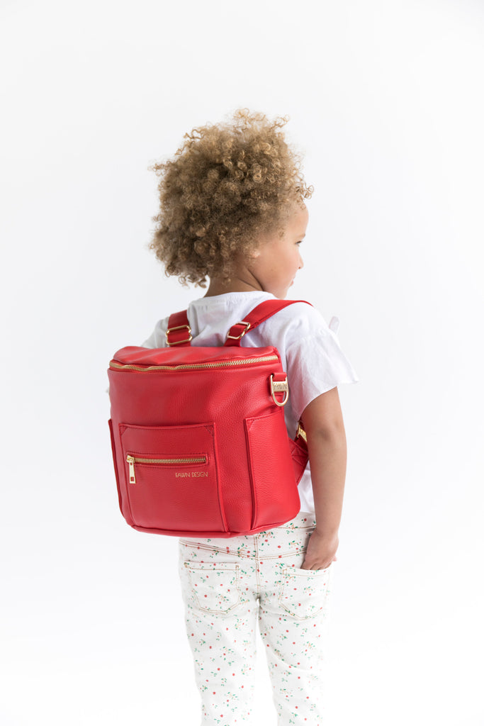 Fawn Design Mini Backpack in Poppy
