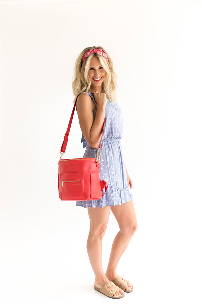 Fawn Design Mini Backpack in Poppy - 4th of July Outfits