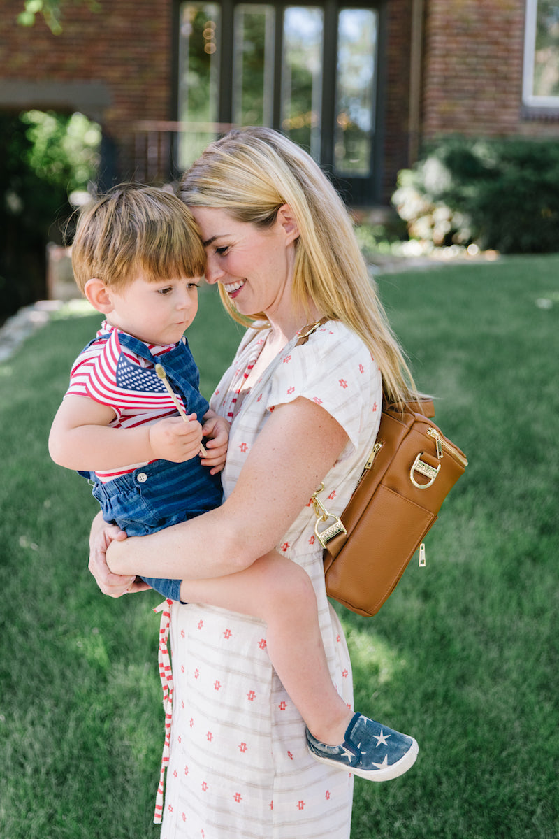 Fawn Design 4th of July - Fawn Design Mini Backpack in Brown
